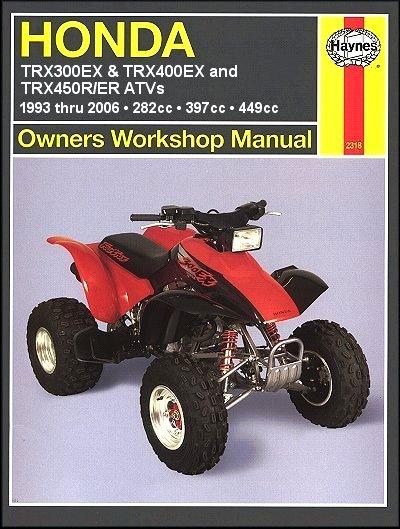 this honda atv repair manual covers fourtrax trx300  fw 1988 honda fourtrax 300 manual honda fourtrax 300 manual free