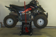 atv jack, atv lift, motorcycle jack