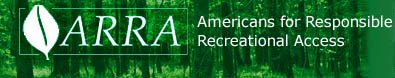 Americans for Responsible Recreational Access Banner